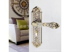 温州锁厂,厂家直销,执手门锁,锌合金欧式锁,室内门锁