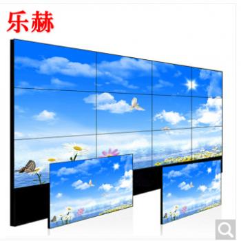 乐博46寸大屏LED无缝拼接屏电视墙高清监视器显示器