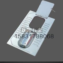 农村户厕带翻板不锈钢蹲便器大小便分集式不锈钢蹲坑