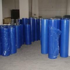 PE蓝色保护膜 低粘网纹保护膜
