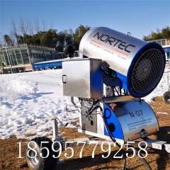 鄂尔多斯滑雪场设备 诺泰克大型户外造雪机