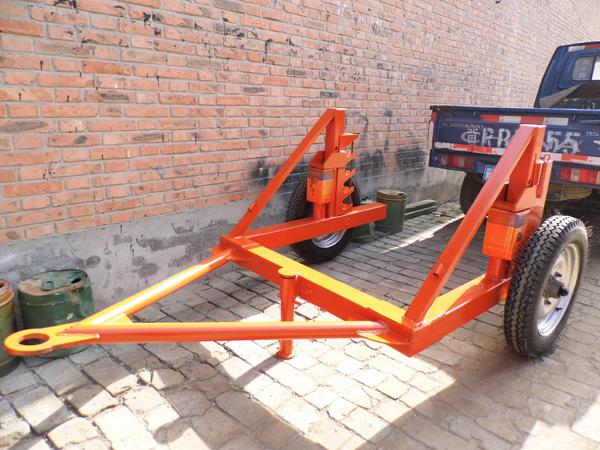 液压式电缆拖车 电缆拖运放线车 电缆线盘放线拖车