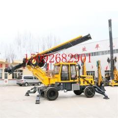 轮式旋挖钻机厂家 360度轮式旋挖钻机 小型轮式旋挖钻机