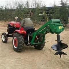 农田果园树木植树机多功能螺旋式加深挖沟机