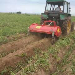 加厚拖拉机土豆地瓜秸秆收秧机多种薯类杀秧机