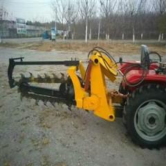 多功能葡萄果园施肥挖沟机拖拉机链条式管道开沟机