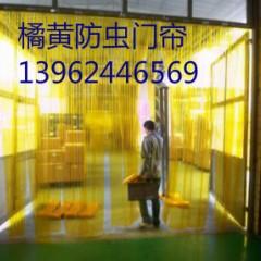 橙色防虫门帘、食品间防蝇门帘、防紫外线门帘