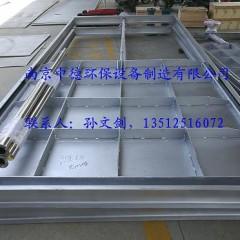 南京中德专业提供CBZM不锈钢插板闸门,不锈钢渠道制水闸门