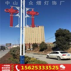户外防水led中国结造型灯 吉祥如意led灯杆造型灯