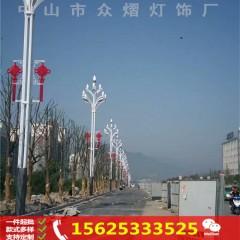 路灯杆led装饰灯 户外道路亮化led中国结造型灯