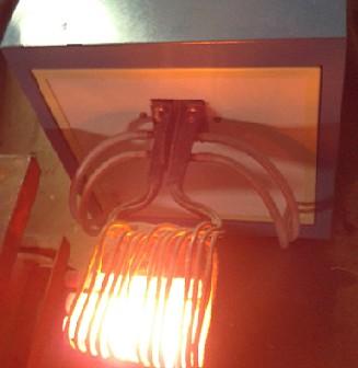 圆钢透热炉、圆钢热锻电炉
