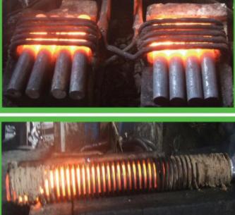 棒料透热锻造炉、标准件锻造加热电