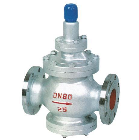 蒸汽减压阀 铸钢法兰式蒸汽减压阀厂