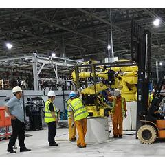 北京汽车焊装生产线搬迁及安装