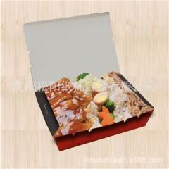 一次性快餐外卖打包便当餐饭盒一次性定制外卖商用批发长方形