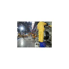 明通承接国内某公司的微电子生产线设备安装服务项目
