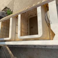 箱体式护坡模具-水泥阶梯挡土墙模具