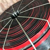 呼和浩特 导料槽双密封挡煤皮 定做防溢裙板 聚氨酯挡煤皮