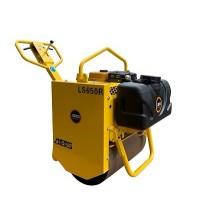 防止划伤沥青路面-LS650R单钢轮压路机