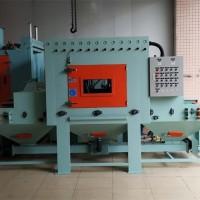 铝合金喷砂机 输送式铝合金铸件喷砂机