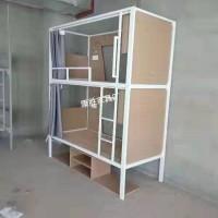 广州上下铺铁床员工宿舍床学生宿舍铁架床工厂价供应