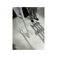 铝合金独角梯 FACL6折叠式挂梯 带电作业单柱爬梯