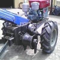 12马力手扶拖拉机绞磨机牵引机 厂家二轮拖拉机