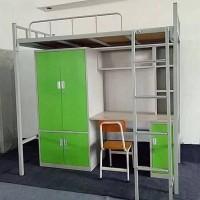 钢管双人组合床 连体公寓床 安装便捷运输方便