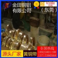 观澜h59黄铜带*h68耐腐蚀黄铜带,高精度h62黄铜带