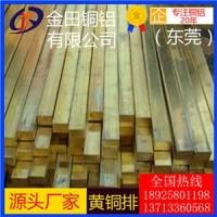 h75黄铜排3.1mm,h59超薄黄铜排-h63耐磨损黄铜排