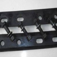 长治矿用六孔道夹板一副两块 43kg道夹板厂家批发供应