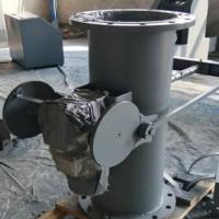 DN250矿浆取样机技术参数 矿浆取样机安装角度60度