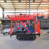280型文登取样钻机 风动潜孔钻机 履带液压钻机