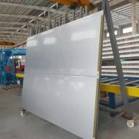 芜湖厂家出售 防腐水波纹横装式聚氨酯岩棉夹芯板