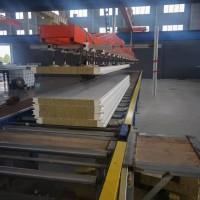 三亚厂家供应 四企口金属幕墙聚氨酯岩棉夹芯板