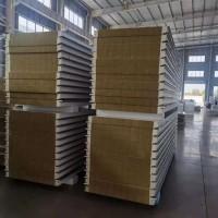 河南洛阳工厂供应 800mm无缝横装式聚氨酯岩棉瓦楞屋面板