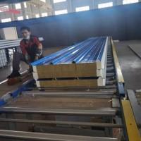 上海外高桥出售 保温防水聚氨酯发泡岩棉夹芯板