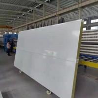 今日头条 浙江湖州金属板无缝接口聚氨酯岩棉夹芯板